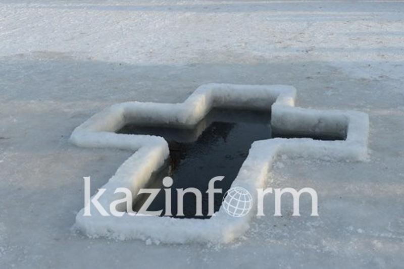 На реке Урал в Атырау к Крещению подготовлены три проруби
