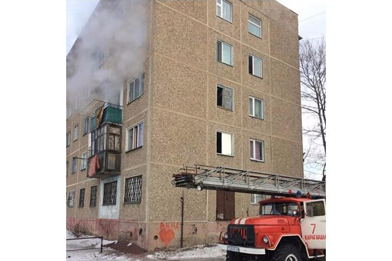 Неисправный электроприбор стал причиной пожара в Караганде
