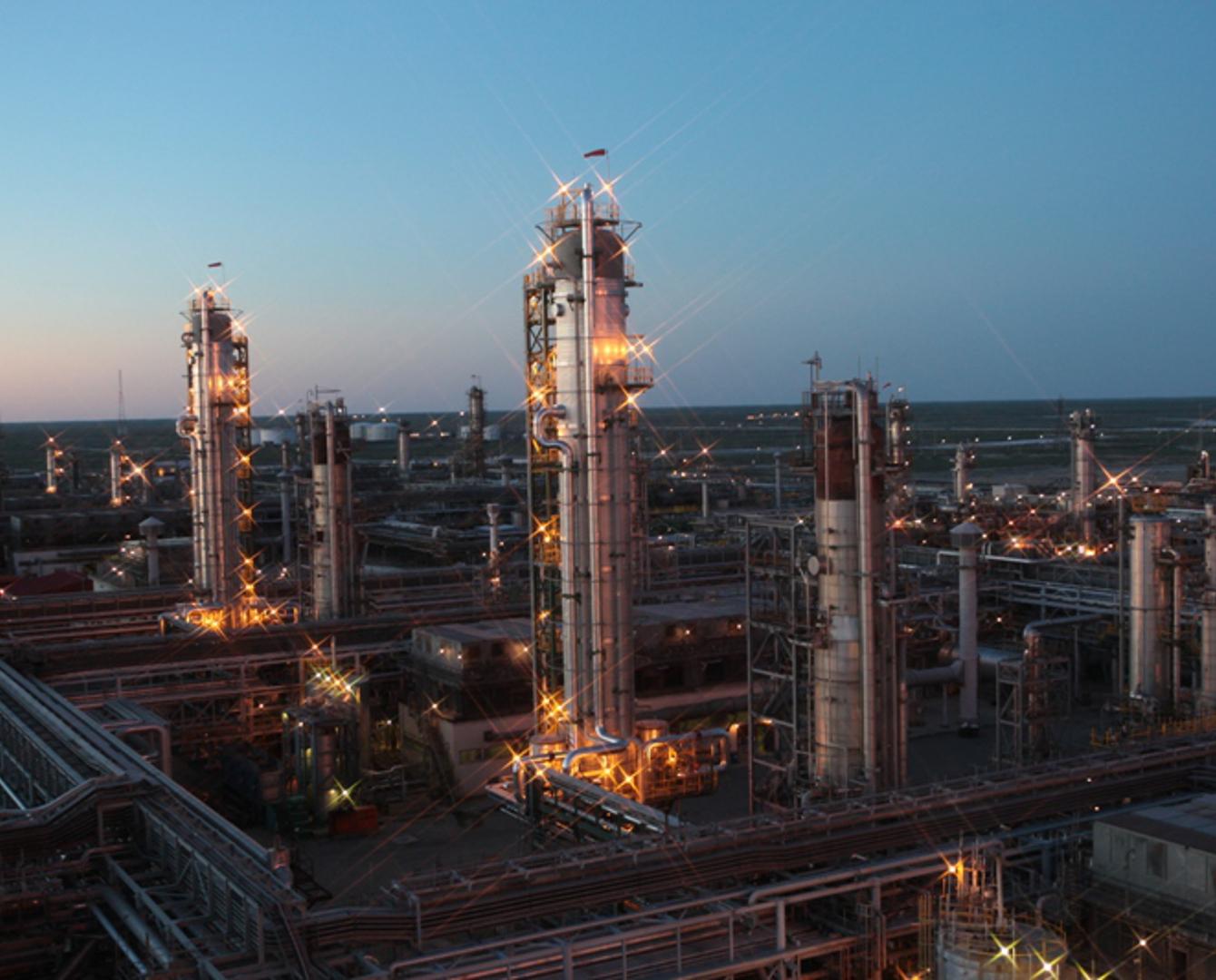 Газохимический комплекс в Атырау получит с Тенгиза 7 млрд кубометров сухого газа