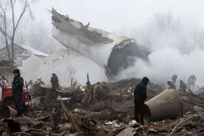 Кыргызстан оценил ущерб от падения Boeing в $2,8 млн