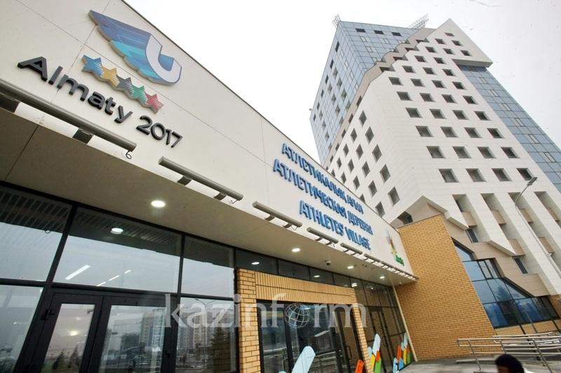 Мебель и бытовую технику из Атлетической деревни распределили между соцучреждениями Алматы