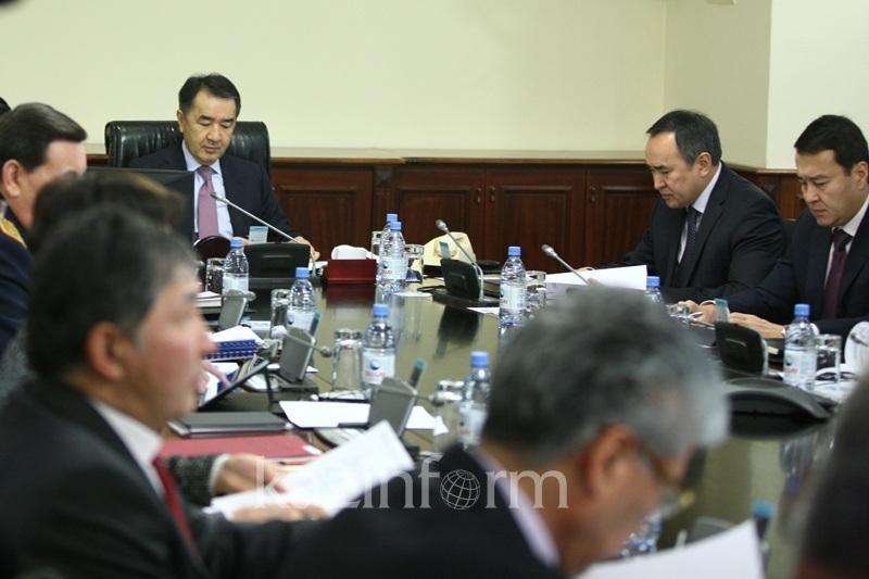 萨金塔耶夫要求财政部在2018年底前完成国企私有化进程