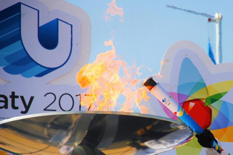 World Winter Universiade 2017 Torch Relay kicks off in Astana