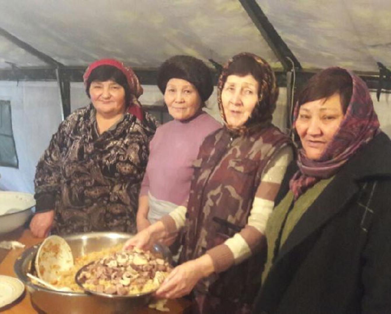 Казахская диаспора Кыргызстана: Мы не могли остаться безучастными к общенародной трагедии