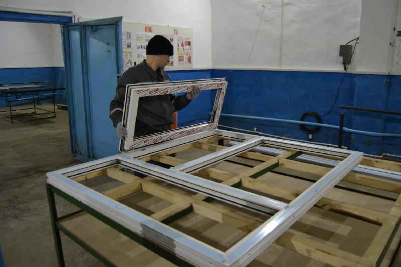 Пластиковые окна начнут выпускать в североказахстанской колонии