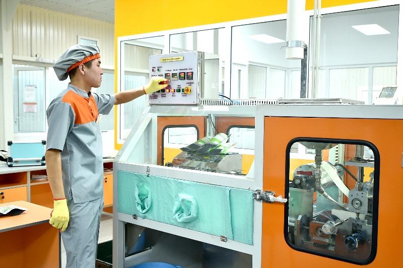 Завод по выпуску медизделий запустили в Шымкенте