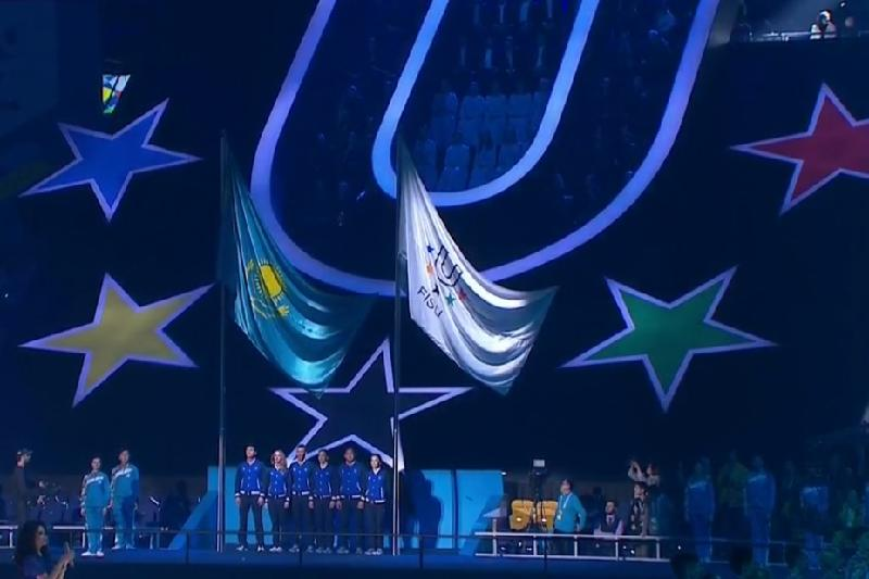 28th Winter Universiade declared open in dazzling show