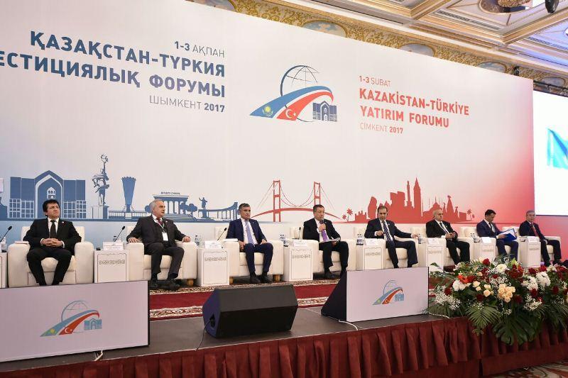 Шымкентте Қазақстан-Түркия инвестициялық форумы өтіп жатыр