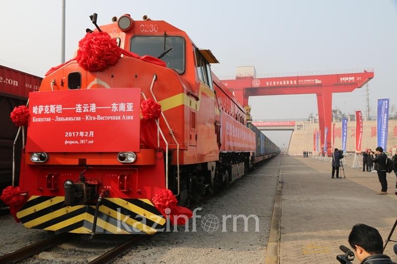 First batch of Kazakhstan grain sent from China to Vietnam