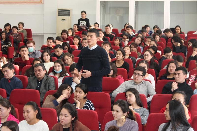 Constitutional reform initiated by President discussed at a university in Almaty