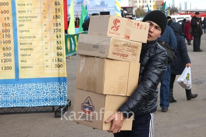 Kazakhstanis prefer to buy imported food stuffs