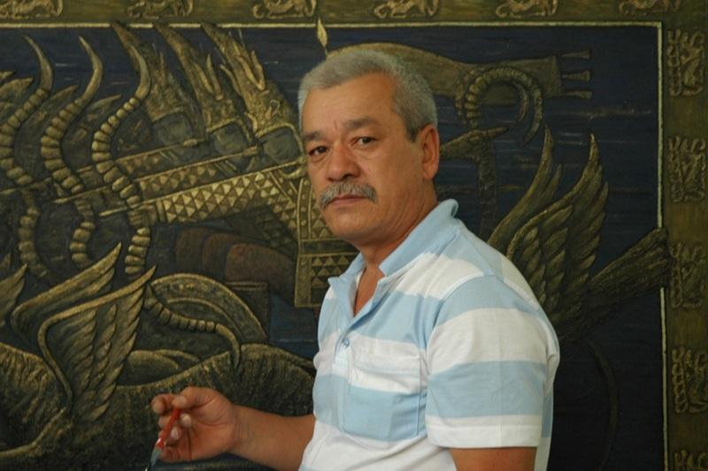 Казах Алижан Амантаев изготовил трон и другие атрибуты Всемирных игр кочевников