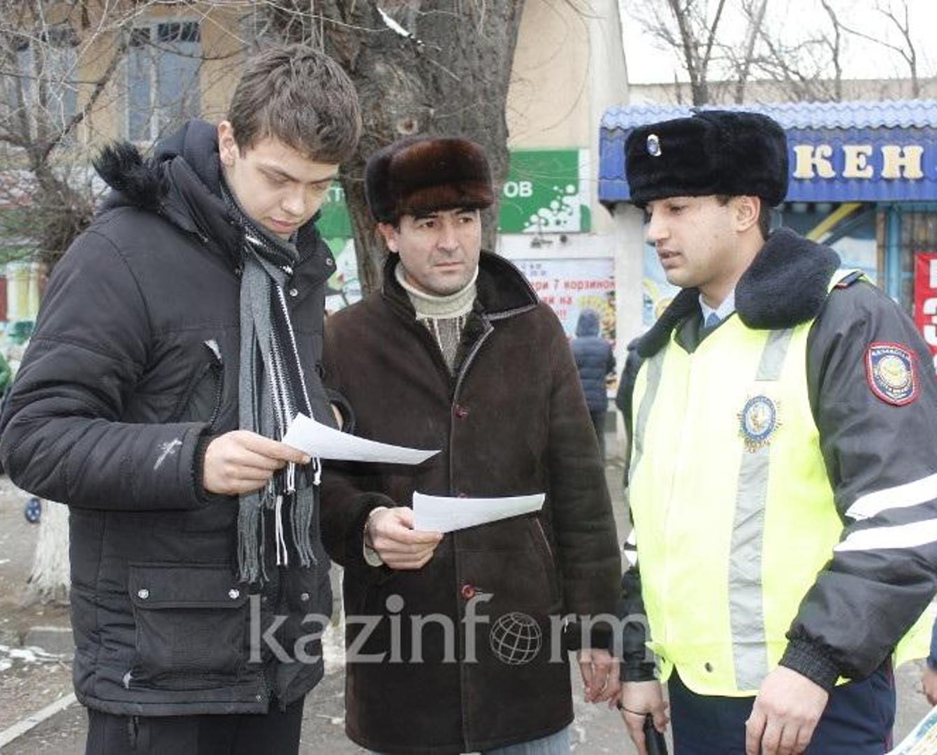 Уменьшить штрафы за нарушения ПДД планируют в Казахстане