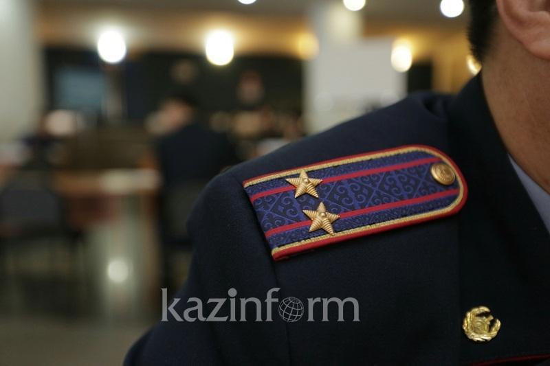 Подозреваемого в тяжком преступлении задержали полицейские Павлодара