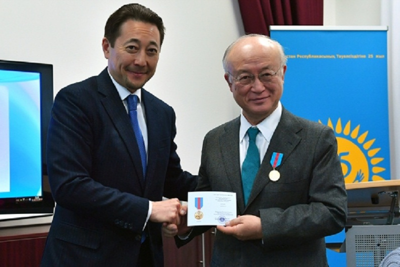 Kazakhstan recognizes IAEA's role in peace and development