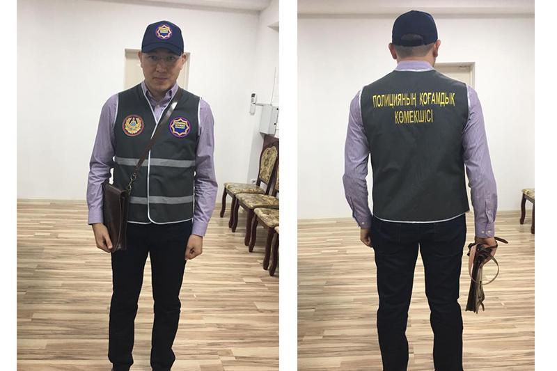 Шымкенттік полицей қоғамдық қауіпсіздікті сақтау үшін жастарды жұмысқа шақырды