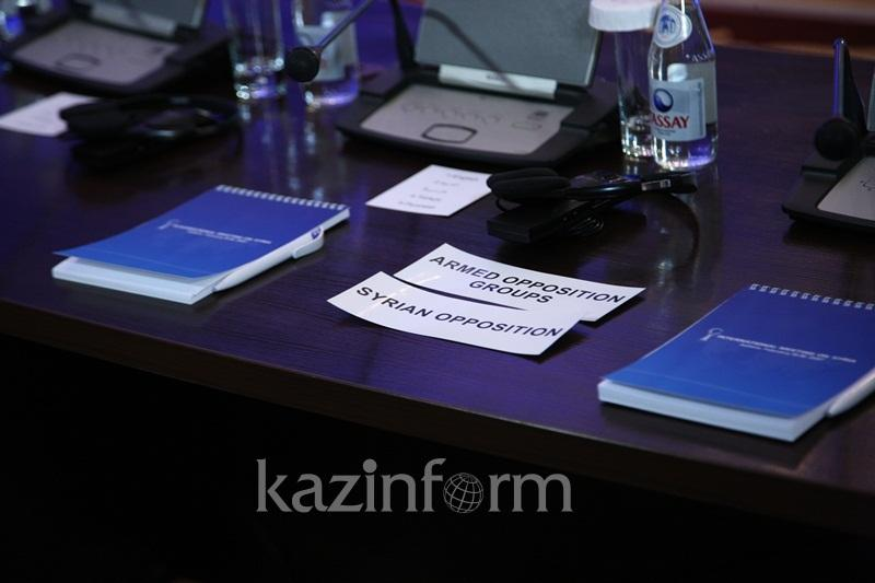 В Астане планируют подписать документ о зонах безопасности в Сирии