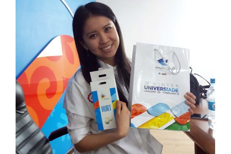 Уроженка Кызылорды выиграла квартиру в Алматы по билету Универсиады-2017