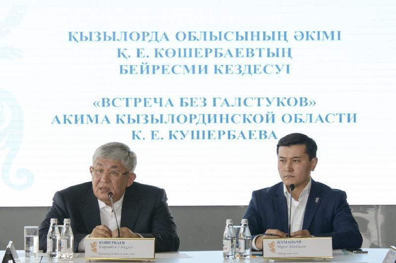 Аким Кызылординской области рассказал об ауле-«оазисе»