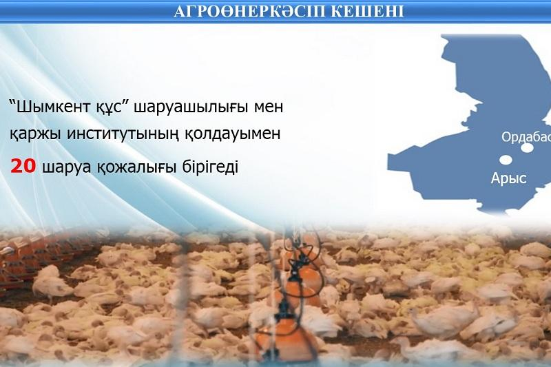 Ońtústik Qazaqstanda 600-den astam kooperatıv iske qosylady