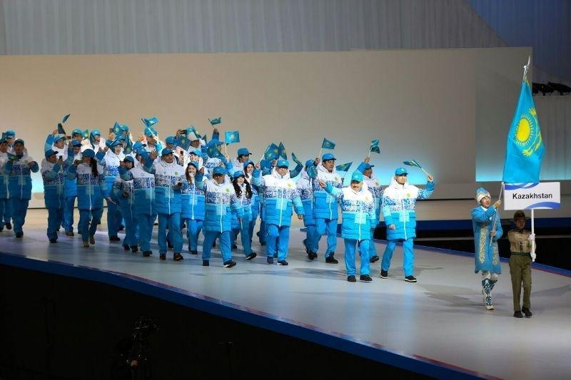第八届亚冬会开幕式在日本札幌盛大开幕