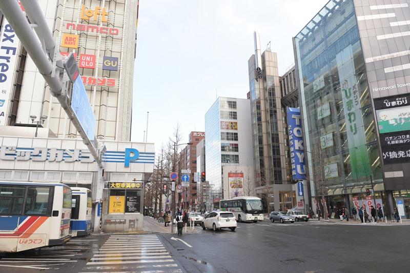 亚冬会记者手记:札幌--充满游客的旅游胜地