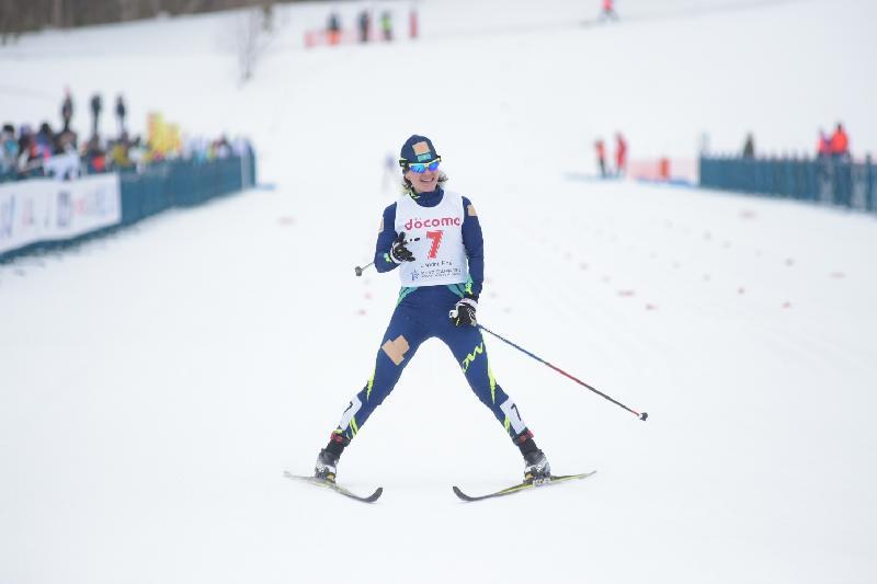 Азиада-2017: шаңғышы Елена Коломина Қазақстан қоржынына алғашқы жүлдені салды