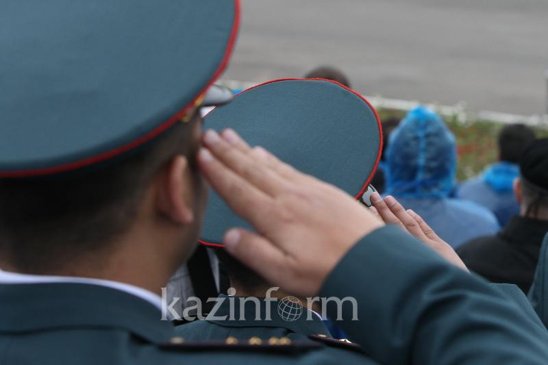 Героев Нацгвардии Казахстана наградили в Павлодаре