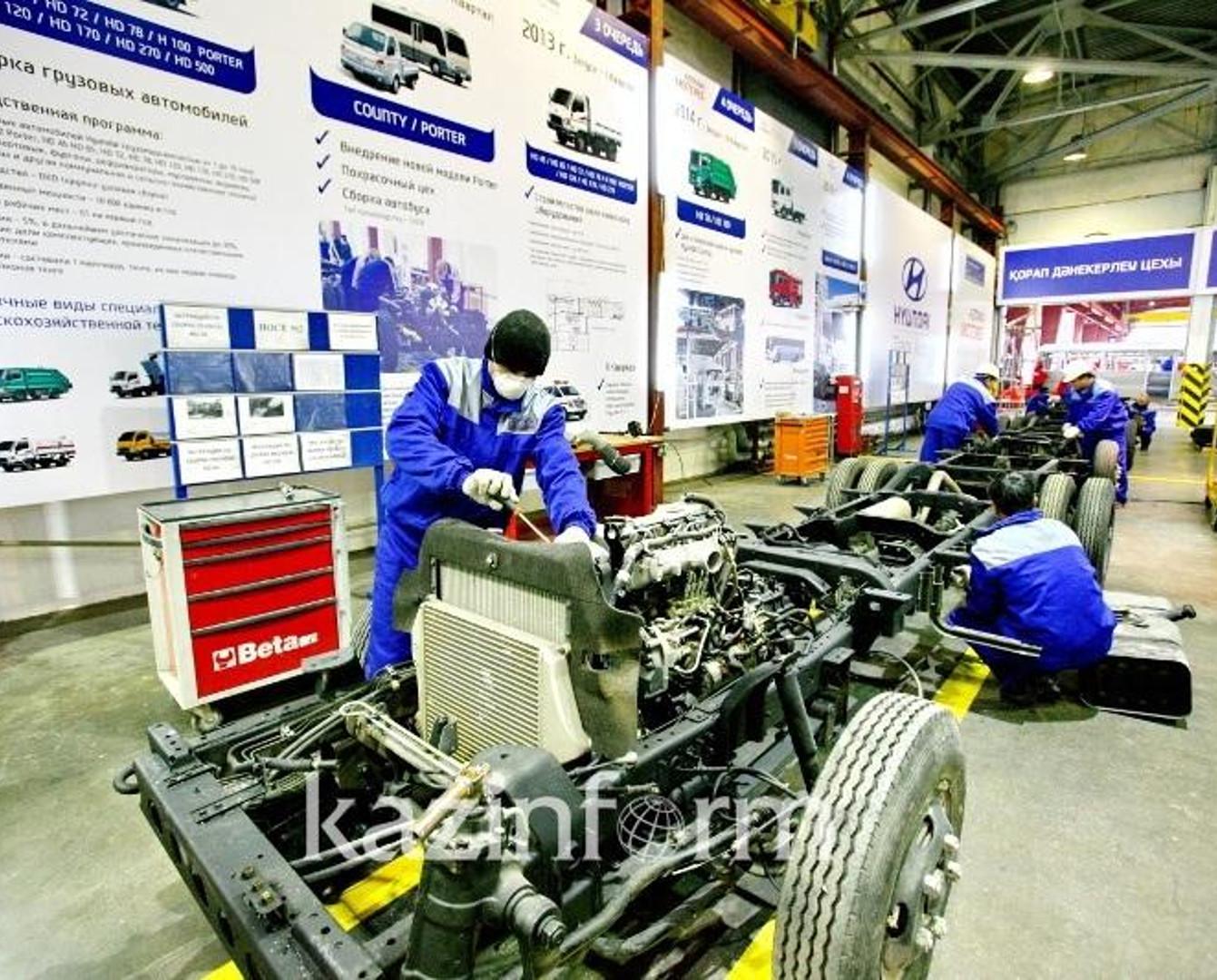 Производство легковых авто возросло почти на 68% - КазАвтоПром