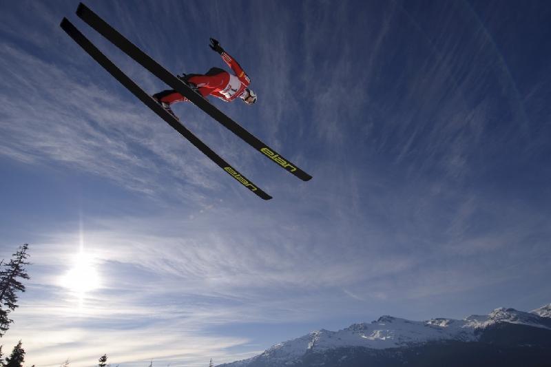 我国代表团获亚冬会跳台滑雪铜牌