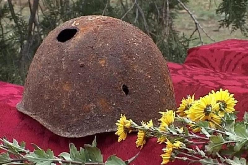 俄库尔斯克地区现二战哈萨克阵亡烈士遗骨 随身带有古兰经
