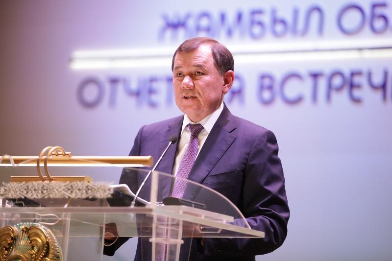 Аким Жамбылской области заявил о лидерстве региона по объемам промпроизводства