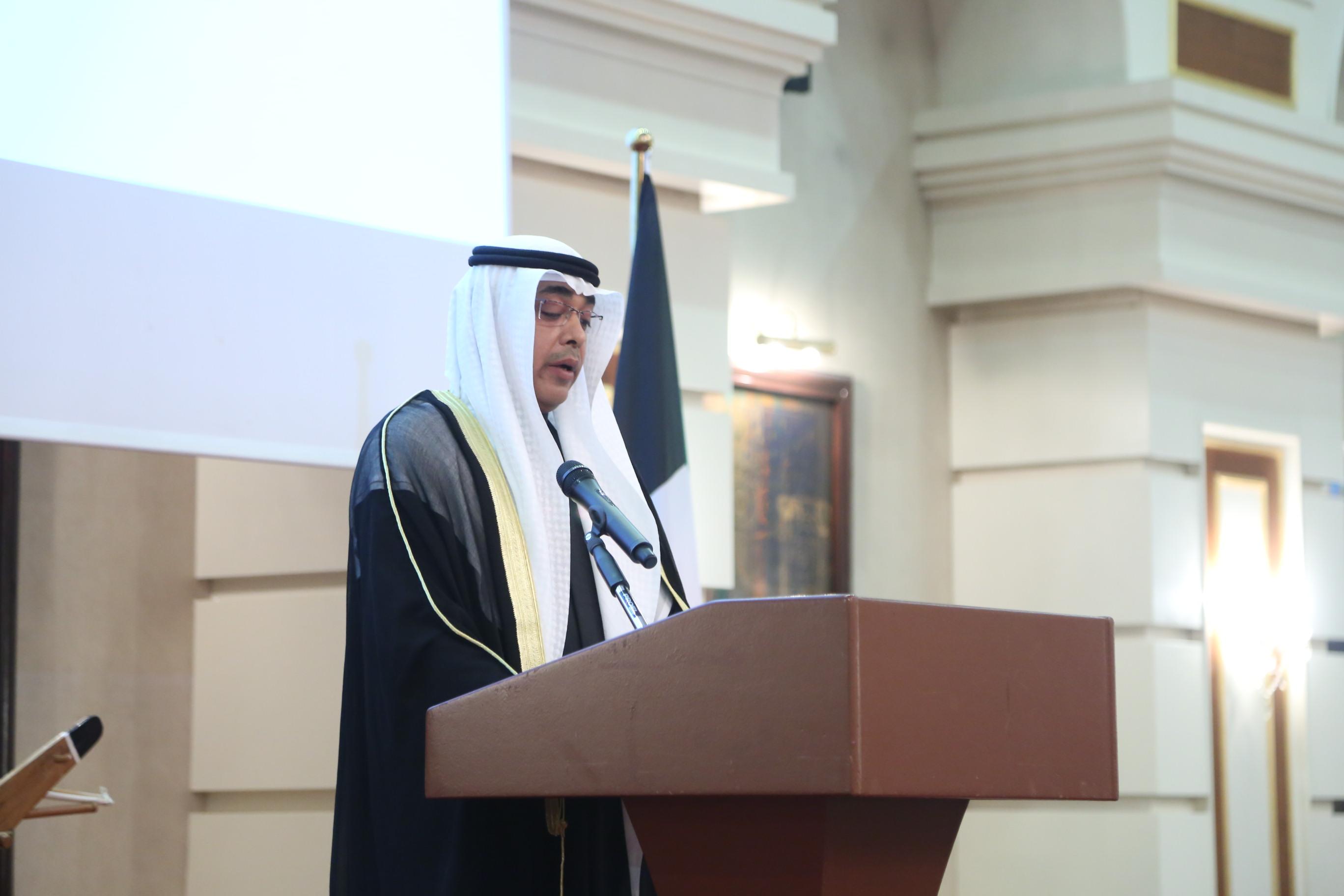 科威特驻哈使馆举行国庆招待会