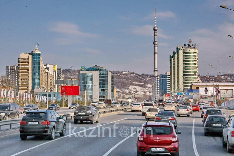 Наиболее аварийный участок дороги назвали в Алматы