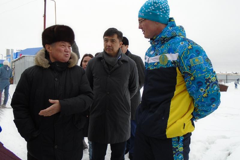 Сапарбаев шаңғы тебуге арналған демалыс орнын сынға алды