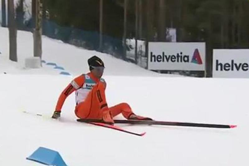 Ғаламшардың ең нашар шаңғышысы қарды әлем чемпионаты басталар алдында ғана көрген