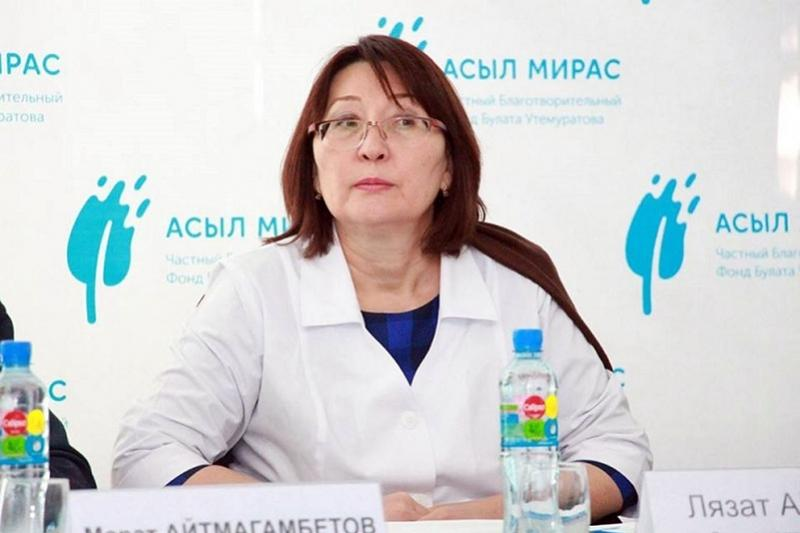 Lyazzat Aktaeva appointed Vice-Minister of Health