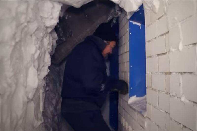Снимки снежных тоннелей Казахстана попали в зарубежные СМИ
