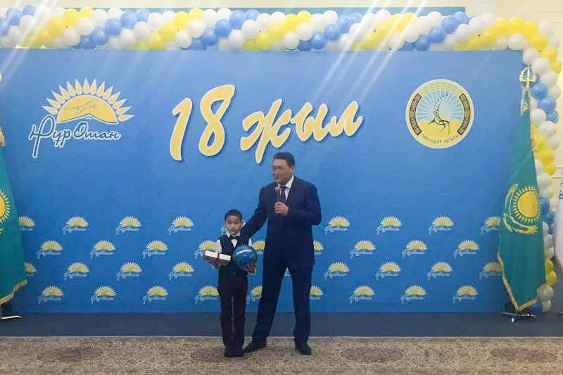 Мальчика по имени Нуротан поздравили в Павлодаре