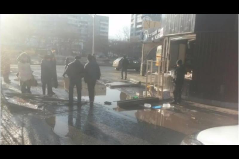 Полицейские расследуют факт взрыва в кафе Экибастуза