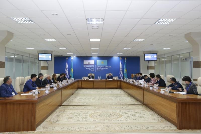 Ақтөбеде Қазақстан-Израиль бизнес форумы өтіп жатыр