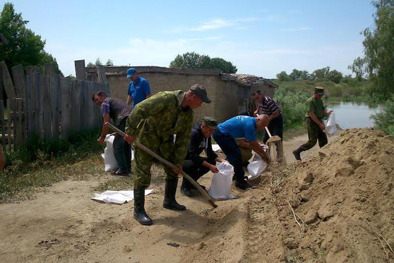 Дополнительные отряды переброшены в Кызылординскую область из-за угрозы паводка