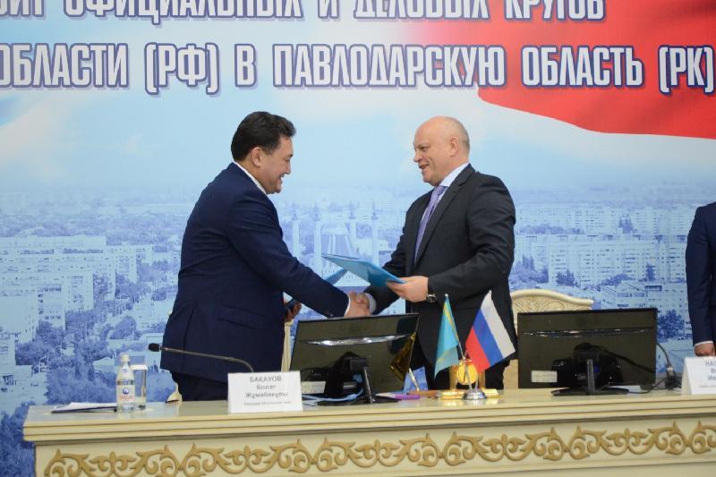 Аким Бакауов предложил рассмотреть возможность открытия авиарейса Павлодар-Омск