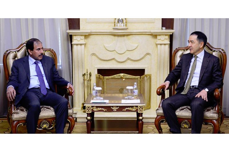 PM, Qatari financiers met in Astana