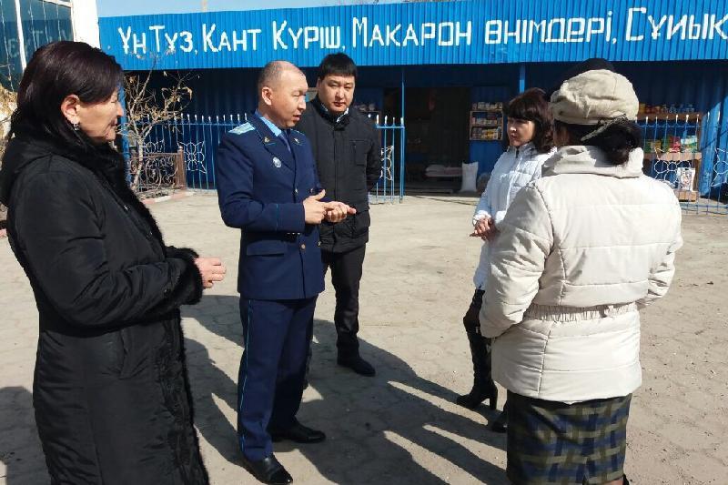 Жамбыл облысының прокурорлары полицейлер мен кәсіпкерлер арасындағы дауды шешті