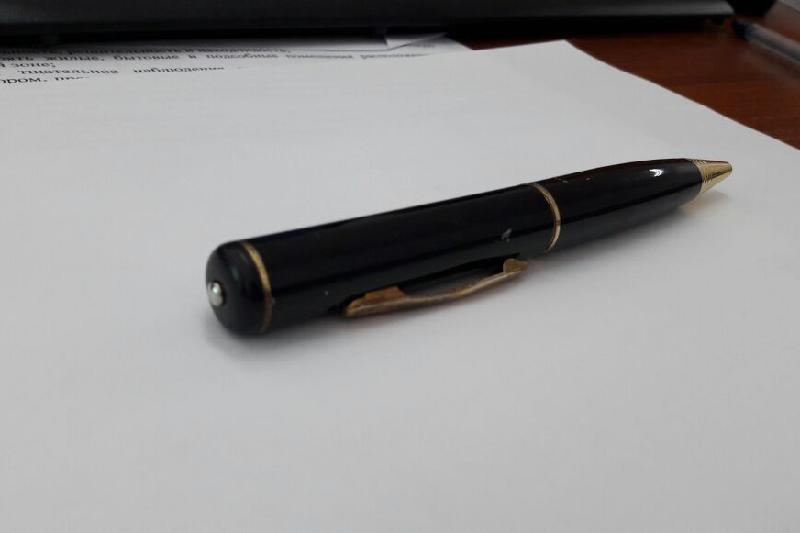 Павлодарец задержан за использование «шпионской» ручки