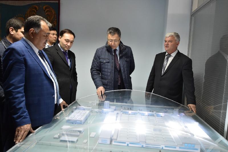 Индустриальный парк «Атамекен-Ордабасы» запустят в Южном Казахстане