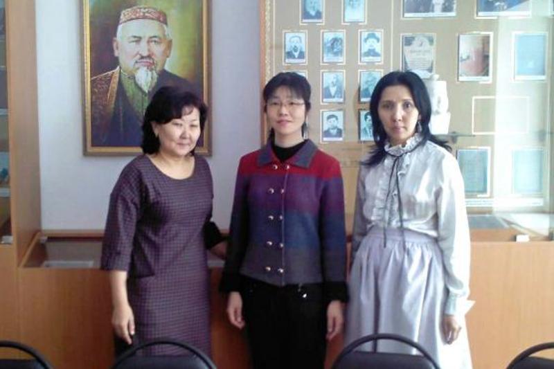 Профессор из Японии решила изучить этнографию в Павлодарской области