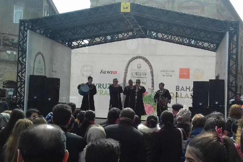 Международный фестиваль Новруза проходит в Баку