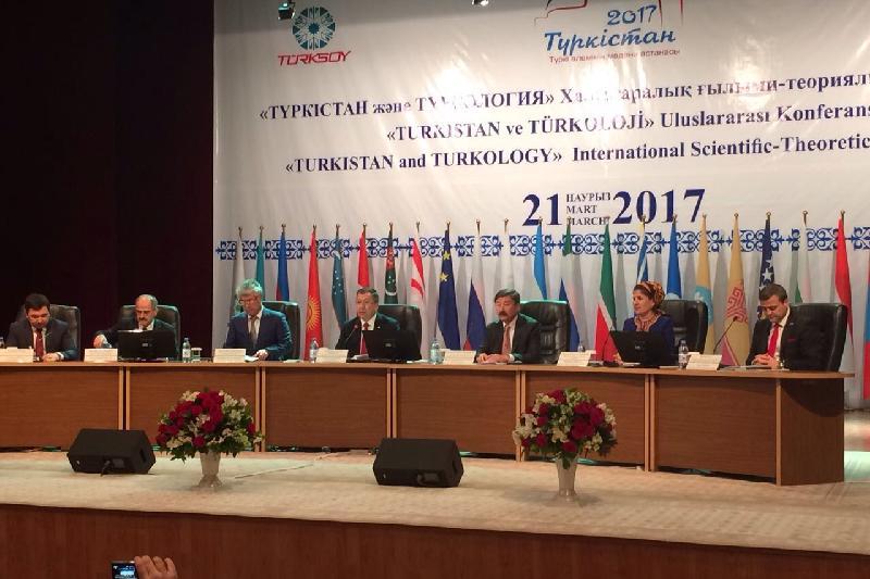 Түркістанда 100-ден астам ғалымдардың қатысуымен халықаралық ғылыми конференция өтті